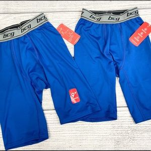 NEW BCG Blue Boys Performance Boxer Briefs